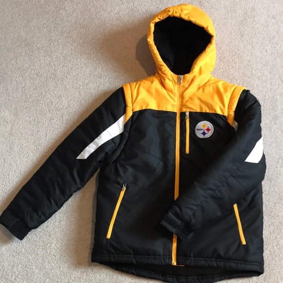 NFL Team Apparel Jackets & Coats | Pittsburgh Steelers Youth Winter